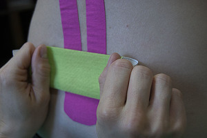 Kinesiology taping - 01